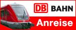 """Deutsche Bahn Logo """"Anreise"""""""