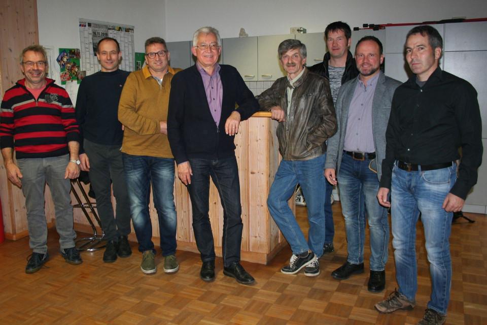 Gruppenbild der Ortschaftsräte Reichenbach
