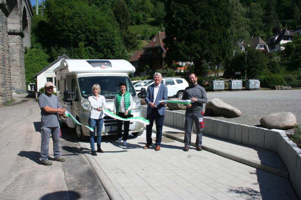 Eröffnung Wohnmobilstellplatz