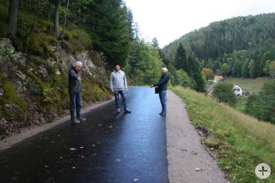 Bauabnahme Straßensanierungen Reichenbach