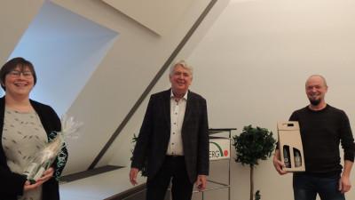 Bürgermeister Scheffold ehrt Mitarbeiter