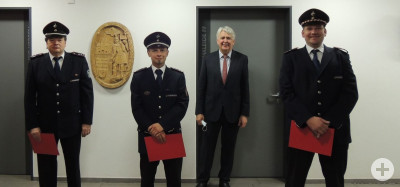 Neuverpflichtung Feuerwehrkommando