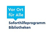 """Logo Soforthilfeprogramm """"Vor Ort für Alle"""""""